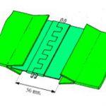 Giunzione flessibile PVC - PU disegno